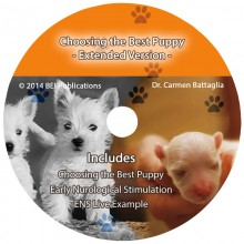 Dr. Carmen Battaliga's Choosing The Best Puppy Extended Version Seminar on DVD